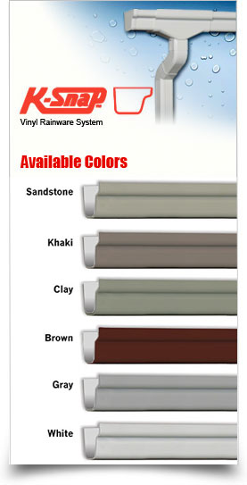 K Snap Vinyl Rainware And Gutters